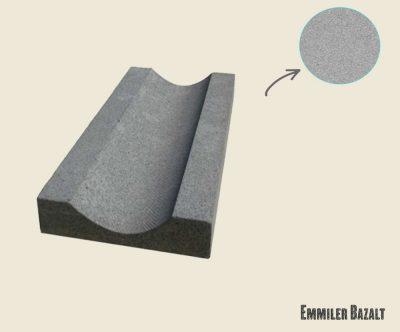 bazalt su oluğu patinato emmiler bazalt